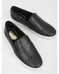 MICHAEL Michael Kors - Black Keaton Slip On Sneakers - Lyst