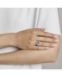 """Paolo Costagli - Medium Blue Topaz & Diamond """"brillante Valentina"""" Ring - Lyst"""