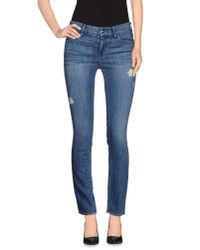 Koral - Blue Denim Trousers - Lyst