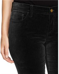 Lauren by Ralph Lauren - Black Plus Straight-leg Skinny Pants - Lyst