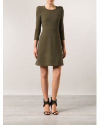 Chloé - Green Sable Dress - Lyst