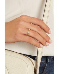 Anita Ko - Metallic Orbit 18-Karat Gold Diamond Ring - Lyst