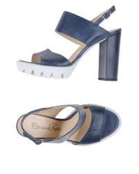Emanuela Passeri - Gray Sandals - Lyst