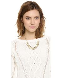 Madewell - Green Enamel Statement Necklace - Lyst