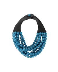 Fairchild Baldwin - Blue Bella Beaded Necklace - Lyst