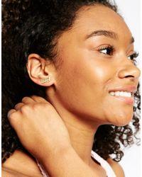 ASOS | Metallic Bang Ear Crawler | Lyst