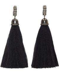 Lanvin   Black Earrings   Lyst
