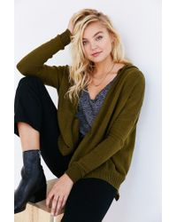 Silence + Noise | Green Take Your Time Cardigan | Lyst