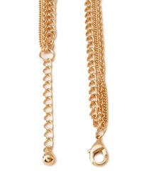 Forever 21 - Metallic Charmed Layered Necklace - Lyst