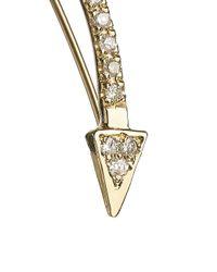 Loren Stewart | Metallic Gold Diamond Arrow Slide Earring | Lyst
