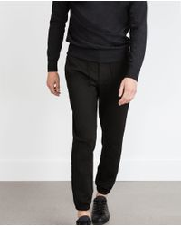 Zara | Black Knit Jogging Trousers for Men | Lyst