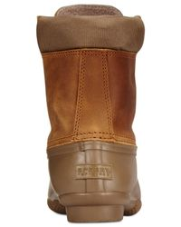Sperry Top-Sider | Brown Women's Shearwater Duck Booties | Lyst