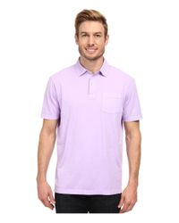 Vineyard Vines | Purple Pigment Garment Dyed Polo for Men | Lyst