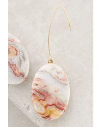 Anthropologie | Pink Sunset Field Earrings | Lyst