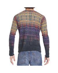 Just Cavalli | Multicolor Sweater for Men | Lyst