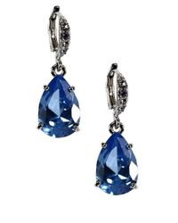 Givenchy - Blue Sapphire Drop Earrings - Lyst