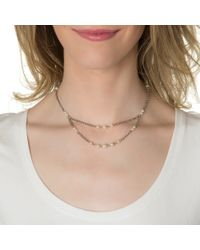 Ben-Amun | Metallic Long Back Necklace | Lyst