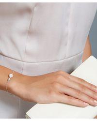 Astley Clarke | Metallic Moonstone Oval Bracelet | Lyst