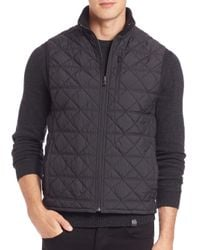 Victorinox - Black Matterhorn Quilted Vest for Men - Lyst