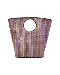 KATE CHAN Purple Luna Woven Basket