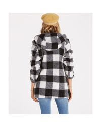 Billabong - Black Into The Forest Coat - Lyst