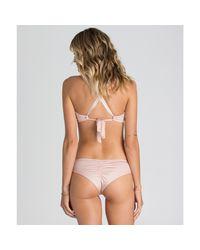 Billabong - Multicolor Sol Searcher Island Crossback Bikini Top - Lyst
