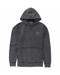 Billabong | Gray Wave Washed Pullover Hoodie for Men | Lyst