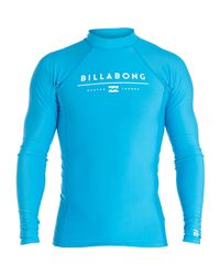Billabong | Blue All Day Unity Performance Long Sleeve Wetshirt for Men | Lyst