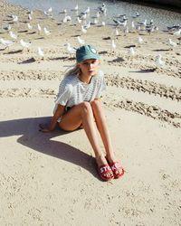 Billabong - Brown Sandy Toes Slide Sandal - Lyst
