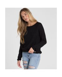 Billabong | Black Only The Sun Sweater | Lyst