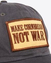 Billy Reid - Gray Make Cornbread Cap for Men - Lyst