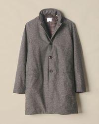 Billy Reid - Gray Eric Coat for Men - Lyst