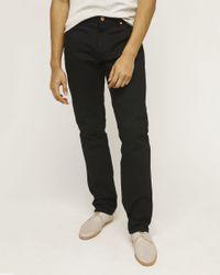 Billy Reid - Black Slim Jean for Men - Lyst