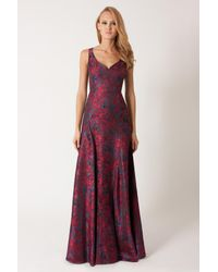 Black Halo | Multicolor Makonde Gown | Lyst