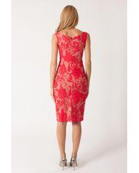 Black Halo - Pink Ally Off-the-Shoulder Sheath Dress  - Lyst
