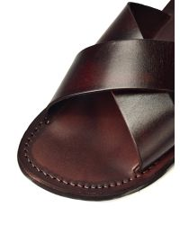 Jerusalem Sandals Brown Elan for men