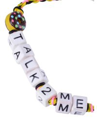 Venessa Arizaga - Multicolor Dont Talk To Me Bracelet - Lyst