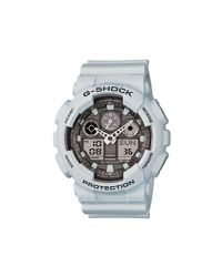 G-Shock - White Ga-100 Series for Men - Lyst