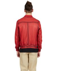 Blood Brother - Guard Bomber In Red for Men - Lyst