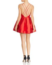 Fame & Partners - Red The Sienna Dress - Lyst