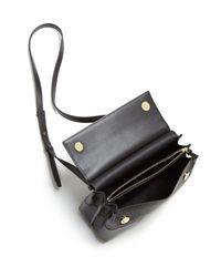 Tory Burch - Multicolor Block-t Leather Crossbody - Lyst