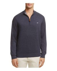 Vineyard Vines - Blue Quarter-zip Sweater for Men - Lyst