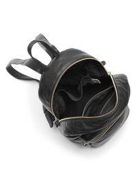 Baggu - Black Leather Backpack - Lyst