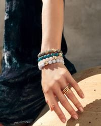 Gorjana - White Power Gem Statement Bracelet - Lyst