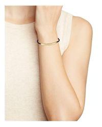 Kate Spade - Metallic Heart Of Gold Bar Slider Bracelet - Lyst