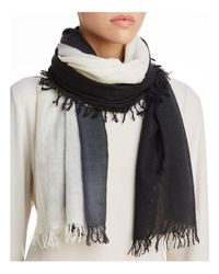 Eileen Fisher - Multicolor Frayed Scarf - Lyst