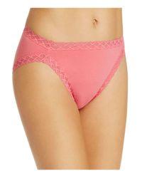 Natori - Pink Bliss French Cut Bikini - Lyst