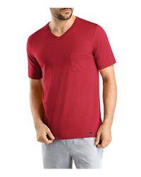 Hanro - Red Night & Day V-neck Tee for Men - Lyst