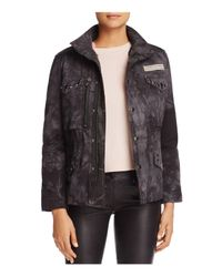 Jocelyn - Multicolor Rabbit Field Jacket & Fur Vest Liner - Lyst