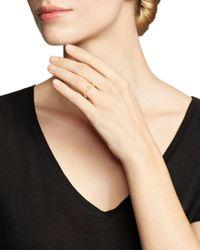 Dana Rebecca - Metallic 14k Yellow Gold Sadie Pearl Baguette Diamond Ring - Lyst